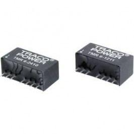 DC/DC měnič TracoPower TMR 6-0522, SIL-8, 250 mA, 5 V/DC / ±12 V/DC, 6 W, 84 %