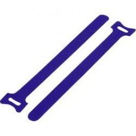 Stahovací páska se suchým zipem KSS MGT-180BE, 180 mm x 12 mm, modrá