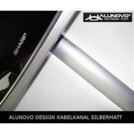Hliníková elektroinstalační lišta Alunovo AL90-050, 500 x 80 x 20 mm
