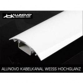 Hliníková elektroinstalační lišta Alunovo HW90-100, 1000 x 80 x 20 mm