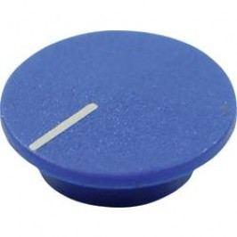 Krytka tlačítka Cliff CL1774, modrá, 9,25 mm, modrá