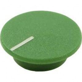 Krytka tlačítka Cliff CL1776, zelená, 9,25 mm, zelená