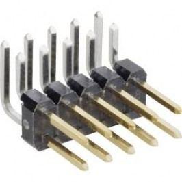 Pinová lišta úhlová MPE Garry STL2-1470AGT-006U, 2x 3pól., 2,54 mm