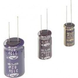Kondenzátor elektrolytický Samwha RH2V106M10016PA, 10 µF, 350 V, 20 %, 16 x 10 mm