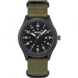 Ručičkové náramkové hodinky Eurochron EQAU 2701, hliník, látkový pásek
