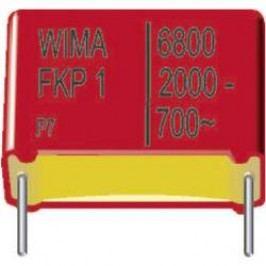 Foliový kondenzátor FKP Wima, 330 pF, 2000 V, 10 %, 18 x 6 x 12,5 mm