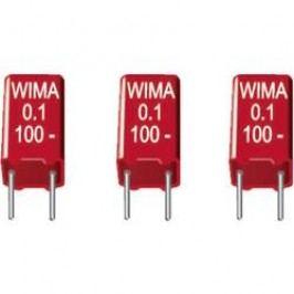 Foliový kondenzátor MKS Wima, 6,8 µF, 50 V, 20 %, 7,2 x 8,5 x 14 mm
