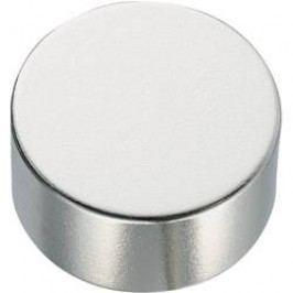 Permanentní magnet, N45, 10 x 2 mm, cylindrický