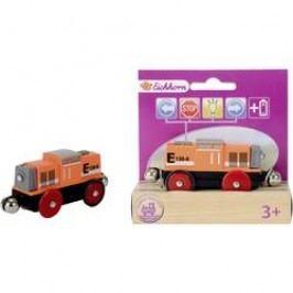 Dřevěné vláčky Eichhorn 100001306, dieselová lokomotiva, 4 funkce