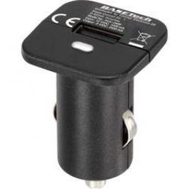 USB nabíječka Basetech KUC-2400, 2400 mA, černá