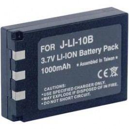 Náhradní baterie pro kamery Conrad Energy LI-10B/LI-11B/LI-12B, 3,7 V, 800 mAh
