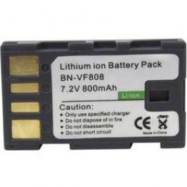 Náhradní baterie pro kamery Conrad Energy BN-VF808, 7,2 V, 650 mAh