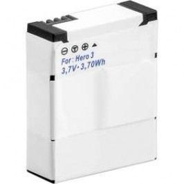 Akumulátor do kamery Conrad energy náhrada za orig. akumulátor AHDBT-301, 3661086 GoPro Hero HD3, 3+