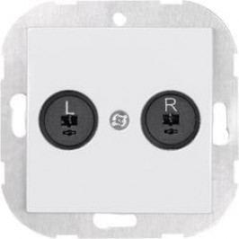 Reproduktorová zásuvka SX.11 33599W, bílá