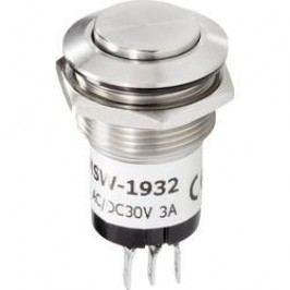 Zvonkové nerezové tlačítko Renkforce, 24 V/1 A, 22 mm
