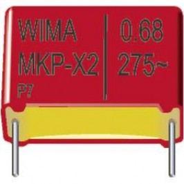 Kondenzátor odrušovací X2 Wima, 0,068 µF, 275 V/AC, 20 %, 13 x 6 x 12,5 mm