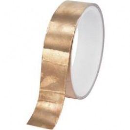 Měděná lepicí páska Conrad CFT-50/10M, 10 m x 50 mm