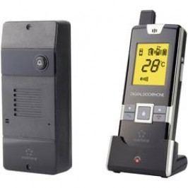 Bezdrátový domovní telefon Renkforce 1168614, černá
