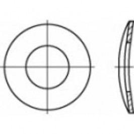 Pružné podložky Toolcraft, zvlněné, DIN 137, vnitřní Ø 8,4 mm, 100 ks