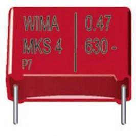 Fóliový kondenzátor MKS Wima MKS4, 7,5 mm, 1 µF, 100 V, 20 %, 10,3 x 5,7 x 12,5 mm