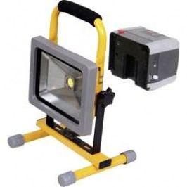 COB LED pracovní osvětlení Shada 300171 20 W, napájeno akumulátorem