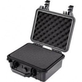 Voděodolný kufr Basetech, (D x Š x V) 270 x 250 x 125 mm, černá