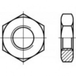 Šestihranné matice TOOLCRAFT 106846, M8, DIN 439, ocel, 1000 ks