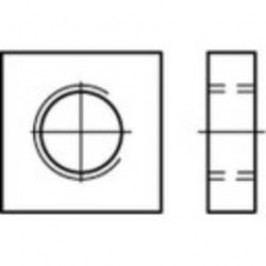 Čtyřhranné matice TOOLCRAFT 109037, M3, DIN 562, ocel, 1000 ks