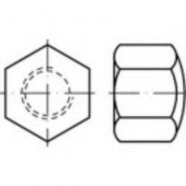 Klobouková matice uzavřená TOOLCRAFT 118852, M12, DIN 917, ocel, 100 ks