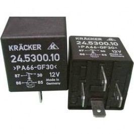 Automobilové relé Kräcker 24.5300.10, 12 V, 20 A, napájecí relé Digifant 2