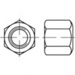 Šestihranné matice TOOLCRAFT 138133, M6, DIN 6330, ocel, 50 ks
